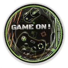 Gamer 'Screens' Party Paper Plates Awesome Gamer themed party plates for your 'screens' addicts! We might not like it but all kids of a certain age LOVE their Sweet Cones, Party Themes For Boys, Party Plates, Fun Games, Screens, Party Supplies, Party Favors, Gaming, Party Ideas