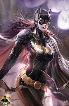 Batgirl Batman 11x17 Print by MonsterBoxStudios on Etsy