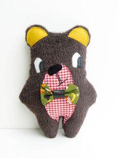 Emile, bear plush.