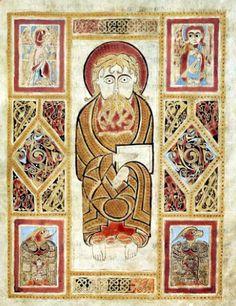The Gospels of St. Gall, a beautifully illustrated 8th century Irish manuscript