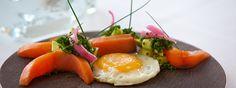 Vi kan varmt anbefale denne morgenmad, der giver kraft og fokus i mange timer. Er du til rå energi, skal du indtage en proteinrig morgenmad med f.eks. kød, æg eller fisk. Æg er noget af det letteste, enten blødkogte eller her som spejlæg, og det tager kun et par minutter. Fisk eller kød fra aftensmaden kan også bruges.