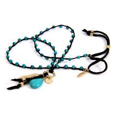Ettika Turquoise Beaded Necklace