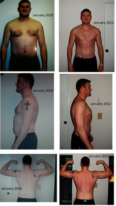Rob C. Just wanted to share my success story and my before and after pics. I completed a round of P90X and then a P90X/Insanity Hybrid. I lost a total of 53lbs and went from 36% body fat down to 10%. During my transformation, I became a Beachbody coach, created a fitness group and have not stopped pressing play. On January 2nd of 2012, I started P90X2 and I'm loving the program.