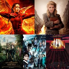 Top 5 Tuesday - Books To Films   1. Hunger Games (Suzanne Collins) 2. The Book Thief (Markus Zusak) 3. Mrs Peregrines Home for Perculiar Children (Ransom Riggs) 4. Harry Potter (JK Rowling) 5. The Stand (Stephen King)   What are your top 5?  #top5tuesday #bookworm