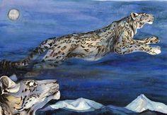 Snow leopards by Jackie Morris