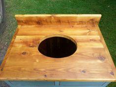 Unfinished Custom Bathroom Vanities antique amish built unfinished reclaimed barn wood bathroom vanity