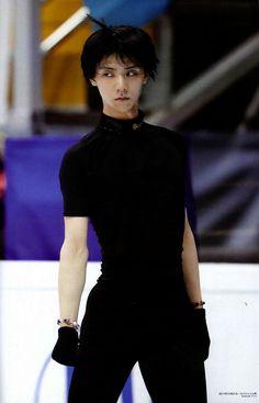 """Yuzuru Hanyu - from FIGURE SKATERS Vol.8 """