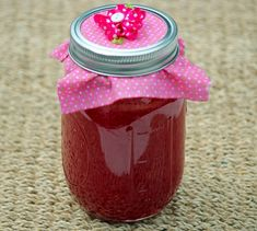 Watermelon Jelly - Sweet, Taste of Summer in a Jar! YOU WILL HAVE A SWEET DELICIOUS TASTE OF THE SUMMER IN THE COLD WINTER, ALL CAPTURED IN A MASON JAR.  IT IS A TASTE THAT WILL TAKE YOU BACK TO EATING WATERMELON AS IT'S JUICE RUNNING DOWN YOUR ARE ARMS...ENJOY