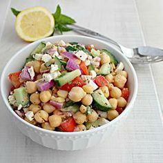 Chickpea+and+Feta+Salad