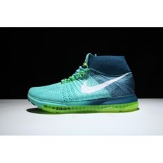 reputable site dd8e9 9590a Kjøpe Nike Air Zoom All Out Flyknit Menn Joggesko Blå Grønn. Free Running  Shoes ...