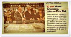 In Jornal de Notícias, 29/04/2013