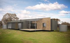 Prebuilt builds architect designed modular prefab homes in the factory, ready for delivery and installation across Australia. Shipping Container Buildings, Container Houses, Shipping Containers, Modern Modular Homes, Australian Homes, Us Beaches, Prefab Homes, Architect Design, Building A House