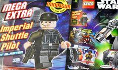 LEGO Star Wars Magazine : Imperial Shuttle Pilot en février 2018: Enfin une minifig ! Le numéro de février 2018 du magazine officiel… #LEGO