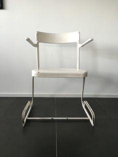 Alu Chair Flora Steiger-Crawford Flora, Vintage Furniture, Chair, Home Decor, Decoration Home, Room Decor, Plants, Stool, Home Interior Design