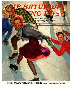 The Saturday Evening Post - The Public Skate