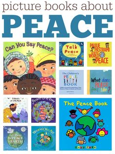 TEACH YOUR CHILD TO READ - Picture books about peace, perfect for most any holiday but especially for Veterans Day - Super Effective Program Teaches Children Of All Ages To Read. Preschool Books, Book Activities, Remembrance Day Activities, Peace Pictures, Peace Education, International Day Of Peace, 12th Book, We Are The World, World Peace