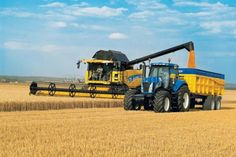 New Holland Combines New Holland Baler, New Holland Ford, New Holland Tractor, Big Tractors, Vintage Tractors, New Holland Combine, Farming Simulator 2015, New Holland Agriculture, Crop Farming