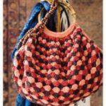 shell crochet bag