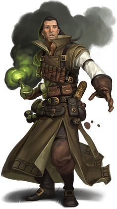 This is the Alchemist. He is a mysterious man who carries with him the Elixir of Life and the Philosopher's Stone