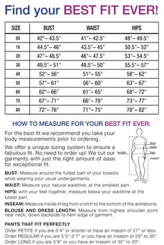 Plus Size Clothing Size Chart Clothing Size Chart, Plus Size Womens Clothing, Plus Size Outfits, Body Shape Chart, Plus Size Summer Fashion, Dresser, Plus Size Tips, Plus Size Intimates