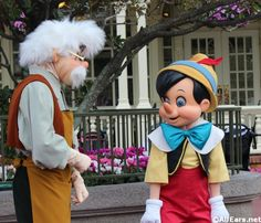 Meet Long Lost Friends Geppetto and Pinocchio, January 21-27, 2013