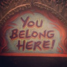 """Or as Miranda July's book title declares,  """"No one belongs here more than you"""""""