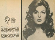 Vintage Hairstyles Tutorial This none is simply fantastic! 1970s Hairstyles, Vintage Hairstyles Tutorial, Curled Hairstyles, Roller Curls, Hair Roller, 1980s Hair, Beach Wave Hair, Beach Waves, Vintage Curls