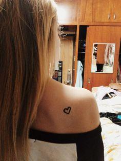 Heart tattoo ❤