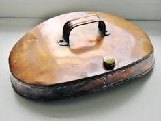 Antique Copper Bed Warmer