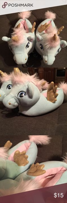 Unicorn slippers Brand new with tags attached Shoes Slippers