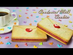 [Eng Sub] 빅 사이즈~! 연유 쿠키 만들기 / How to make condensed milk cookies/ Raspberry Ganache /Big size cookie - YouTube