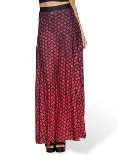 Drogon Dragon Egg Maxi Skirt - LIMITED (AU $130AUD) by Black Milk Clothing