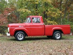 1959 Ford F-100 Pickup  I love the old pick ups