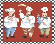 картинки для кухни-весёлые поварята . Обсуждение на LiveInternet - Российский Сервис Онлайн-Дневников