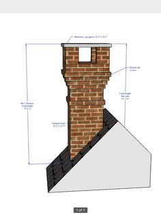 simple but effective detailed chimney stack using some non