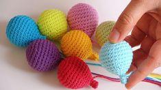 Mesmerizing Crochet an Amigurumi Rabbit Ideas. Lovely Crochet an Amigurumi Rabbit Ideas. Crochet Baby Toys, Crochet Bunny, Crochet Dolls, Mobiles En Crochet, Crochet Mobile, Amigurumi Patterns, Crochet Patterns, Small Balloons, Crochet Videos