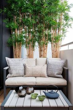 Having a small balcony? Don't have any ideas how to maximize it? Take a look at these small balcony designs. These balcony ideas will really help you decorate or design your small balcony. Small Balcony Decor, Small Balcony Design, Small Balcony Garden, Balcony Plants, Outdoor Balcony, Small Patio, Patio Design, Outdoor Decor, Balcony Ideas
