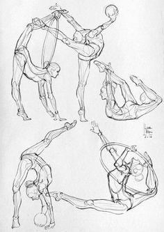 Some anatomical studies - (Sport) on Behance