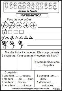 Matemática Nova, Words, Pasta, Learning Activities, Literacy Activities, Math Notebooks, Cut Outs, Horse, Pasta Recipes