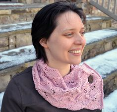 Ravelry: Pillows of Comfort Cowl and Scarf pattern by Lindsay Lewchuk ~ pretty scarf. #giftalong2014