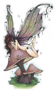 Lazy Fairy by UGLITRY on deviantART