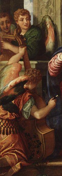 Particolare da Paolo Veronese, Nozze mistiche di Santa Caterina, 1550-1560 circa.
