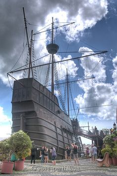 A replica of the Portuguese ship, the Flor de la Mar is housed in the Maritime Museum in Malacca. Afonso de Albuquerque was returning from the conquest of Malacca, bringing with him a large treasure trove for his king, when the ship was lost off the coast of Sumatra in 1511.