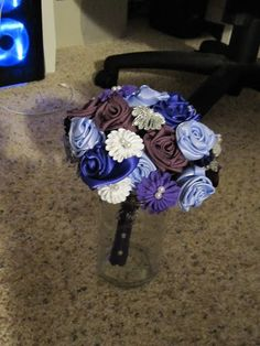 I never counted how many ribbon roses I made before the wedding.  Let's just say the number is probably somewhere in the mid-to high-hundreds, and I can now do them in my sleep!  They started…
