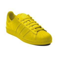 Shop for adidas Superstar Supercolor Athletic Shoe in Yellow Monochrome at Journeys Shoes. Shop today for the hottest brands in mens shoes and womens shoes at Journeys.com.Supercolor is a celebration of equality through diversity. -Pharrell WilliamsStep out of the average and into the expression of individuality with the Superstar Supercolor Sneaker from adidas! Pharrell Williams and adidas collaborate to bring you the Supercolor Superstar in a vibrant array of monochromatic styles. Features…