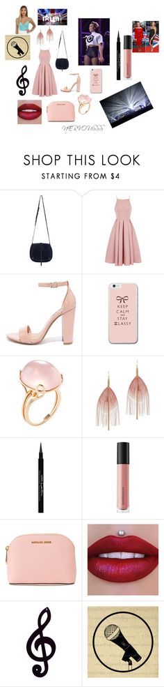 """""""CONCERT ( BRITAIN'S GOT TALENT)"""" by suwarnastyles ❤ liked on Polyvore featuring Jérôme Dreyfuss, Chi Chi, Steve Madden, Goshwara, Serefina, Givenchy, Bare Escentuals, MICHAEL Michael Kors and Dot & Bo"""