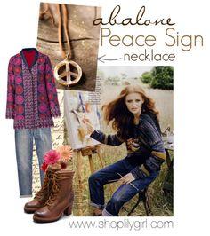 Abalone Peace #peacesign #abalone #daisies