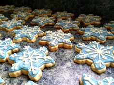 House 344: Where We Learned to Live, Love, and Cook: Snowflake Sugar Cookies