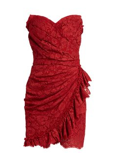 Click here to buy Dolce & Gabbana Cordonetto-lace strapless dress at MATCHESFASHION.COM