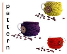 *** This is a pattern only, not the actual cup cozy!    Actual Cup Cozies are here:  http:\/\/www.etsy.com\/shop\/natalya1905?section_id=6435910